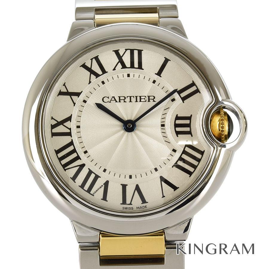 カルティエ CARTIER W2BB0012 36mm ボーイズ CRW63008Z3 外装仕上げ済 クォーツ メンズ 腕時計 te【中古】