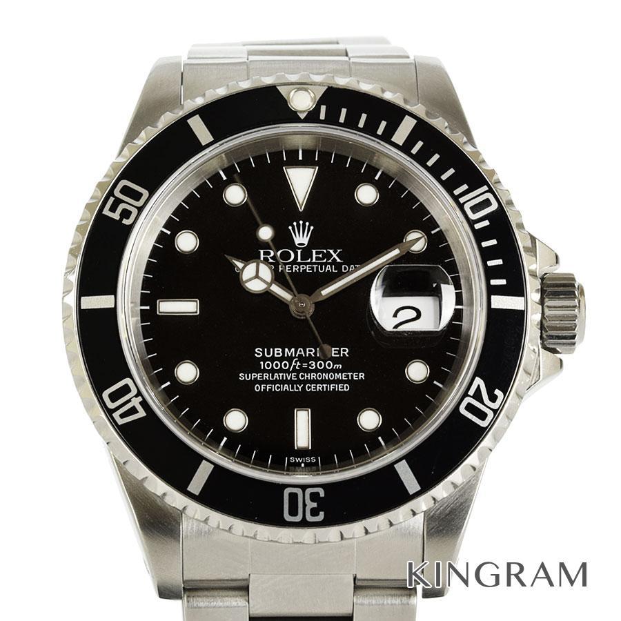 ロレックス ROLEX サブマリーナ 16610 A番 OH 仕上げ済み 自動巻 メンズ 腕時計 fto【中古】