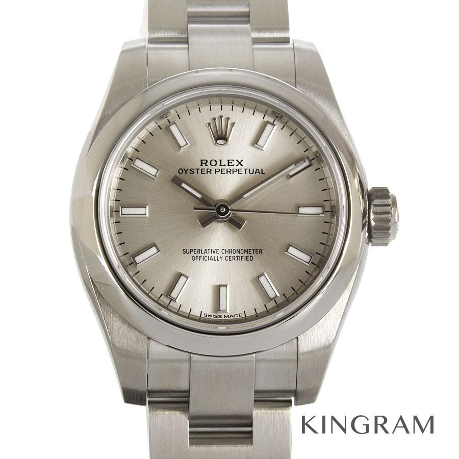 ロレックス ROLEX オイスターパーペチュアル 176200 ランダム 外装仕上げ済 自動巻 レディース 腕時計 te【中古】