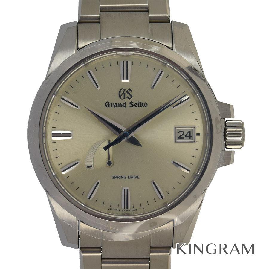セイコー SEIKO グランドセイコー パワーリザーブ スプリングドライブ SBGA279 9R65-0BG0 ヘリテージコレクション 自動巻 メンズ 腕時計 fah【中古】
