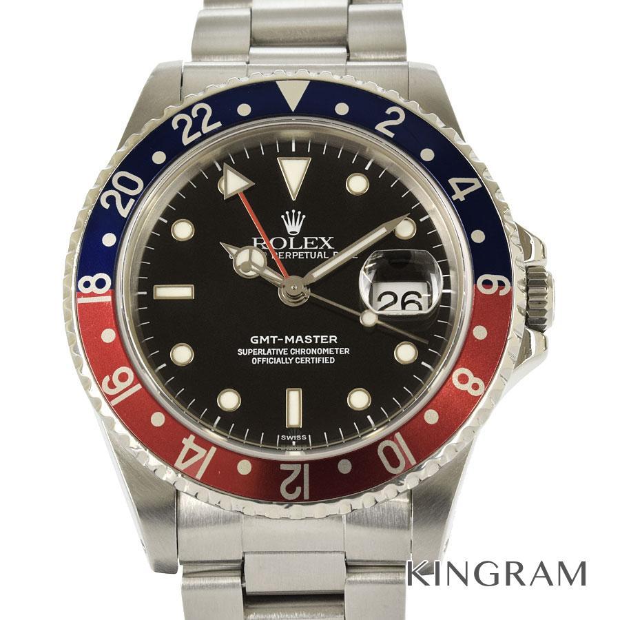 ロレックス ROLEX GMTマスター 16700 E番 OH済 自動巻 メンズ 腕時計 as【中古】