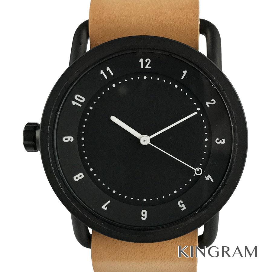 ティッドウォッチ TID Watches TID 01 BK クォーツ メンズ 腕時計 ec【中古】