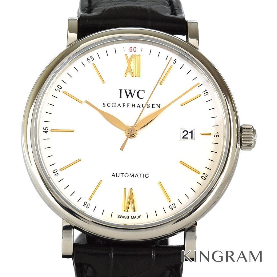 インターナショナルウォッチカンパニー IWC IW356517 ポートフィノ 自動巻 メンズ 腕時計 ec【中古】