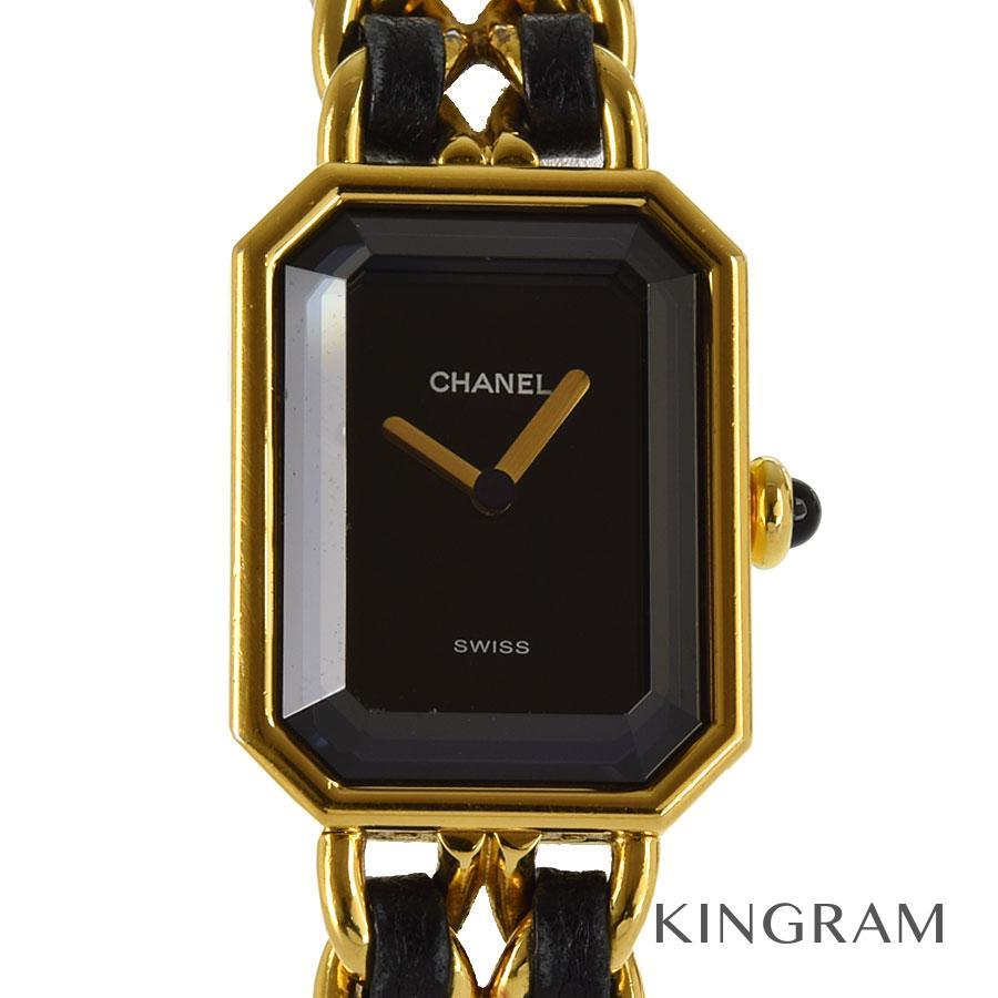 シャネル CHANEL プルミエール Lサイズ 電池交換済 クォーツ レディース 腕時計 ec【中古】