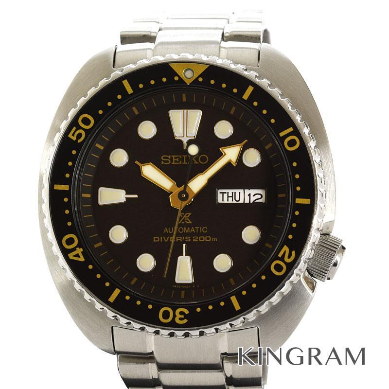 セイコー SEIKO プロスペックス PROSPEX 4R36-04Y0 SRP775 純正未使用革ベルト付き 自動巻 メンズ 腕時計 ec【中古】