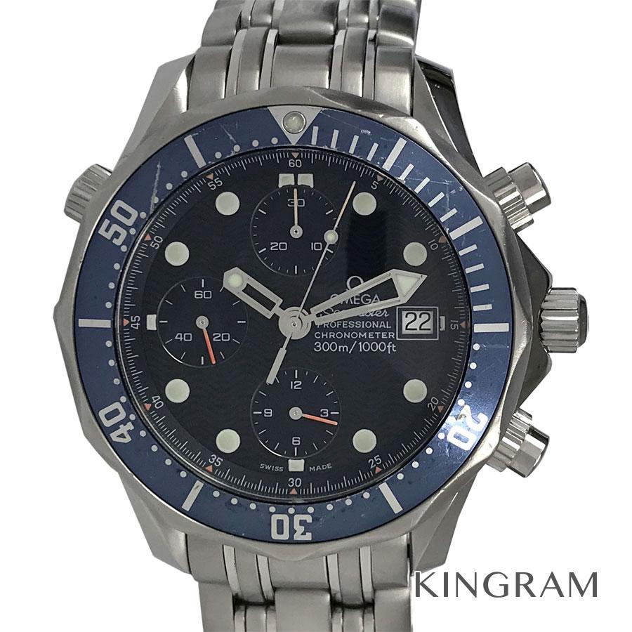 オメガ OMEGA シーマスター 2599.80 300 クロノグラフ 自動巻 メンズ 腕時計 rne【中古】