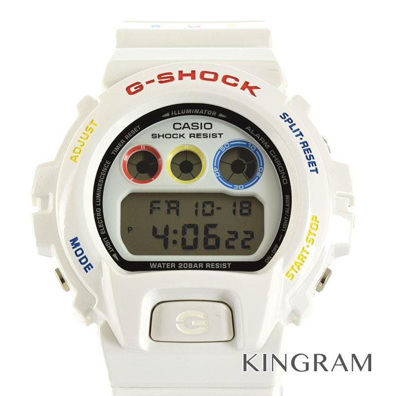 カシオ CASIO DW-6900MT-7JR G-SHOCK ベアブリック 未使用 30周年 コラボ メディコムトイ ソーラークォーツ メンズ 腕時計 rtk【中古】