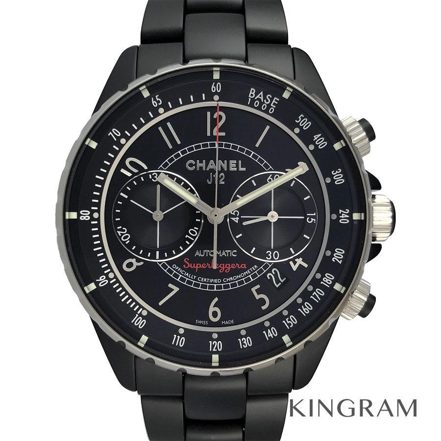 シャネル CHANEL J12 H3409 スーパーレッジェーラ OH済 自動巻 メンズ 腕時計 te【中古】