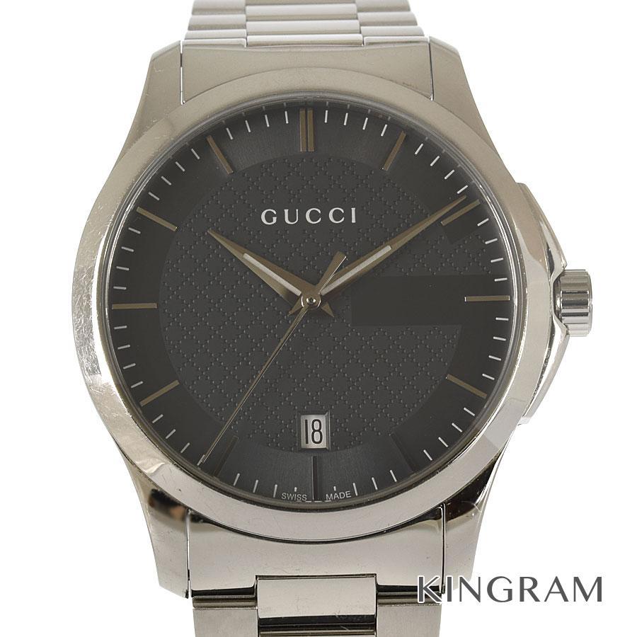 グッチ GUCCI YA126441 Gタイムレス 126.4 クォーツ メンズ 腕時計 mo【中古】