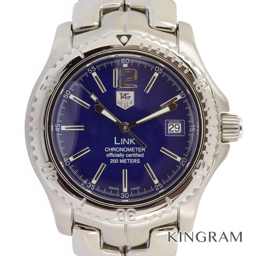 タグホイヤー TAG HEUER リンク WT5112 クロノメーター カレンダー 自動巻 メンズ 腕時計 fc【中古】