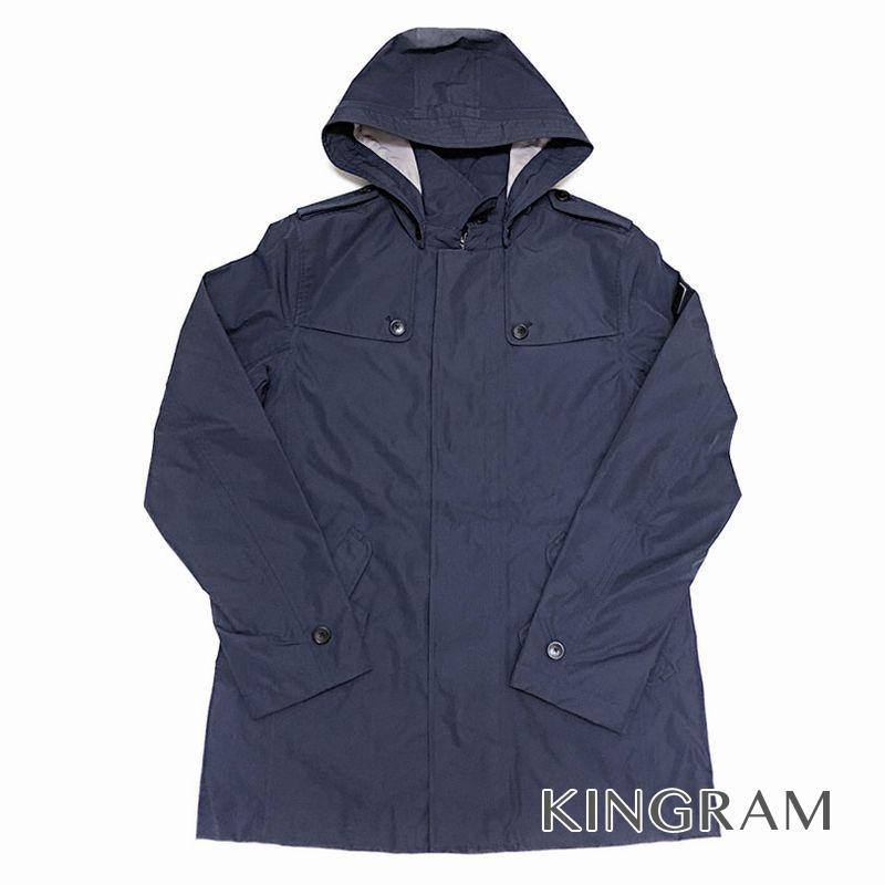 エーグル AIGLE GORE TRENTONY NY フィールドジャケット サイズM ZBHG251 ネイビー ナイロン100% メンズ アウター rsa【中古】