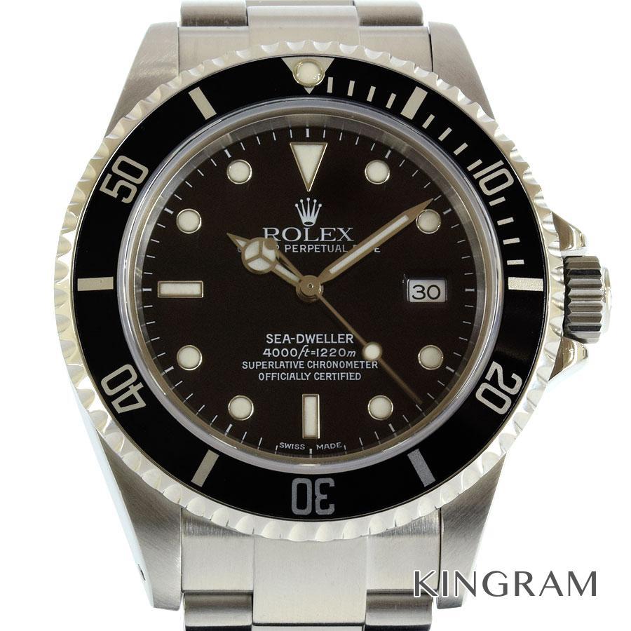 ロレックス ROLEX シードゥエラー 16600 A番 OH済 外装仕上げ済 自動巻 メンズ 腕時計 rib【中古】