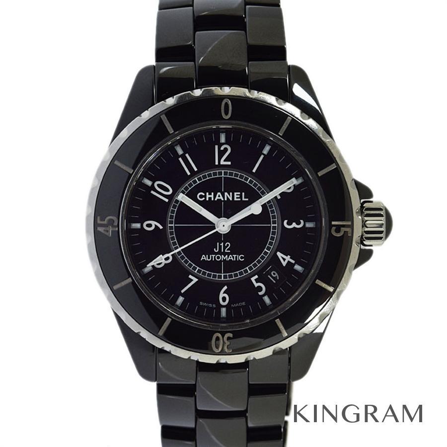 シャネル CHANEL J12 H0685 OH済 自動巻 メンズ 腕時計 rkd【中古】