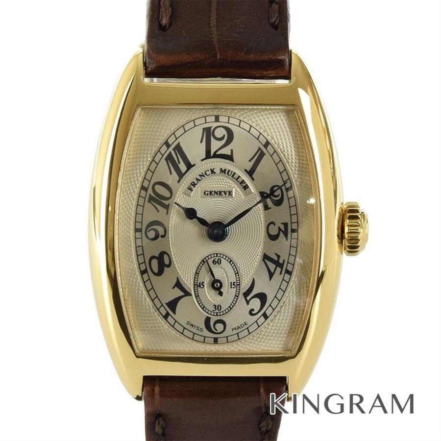フランクミュラー FRANCK MULLER トノウカーベックス 1752S6 CMT クロノメトロ 手巻 レディース 腕時計 te【中古】