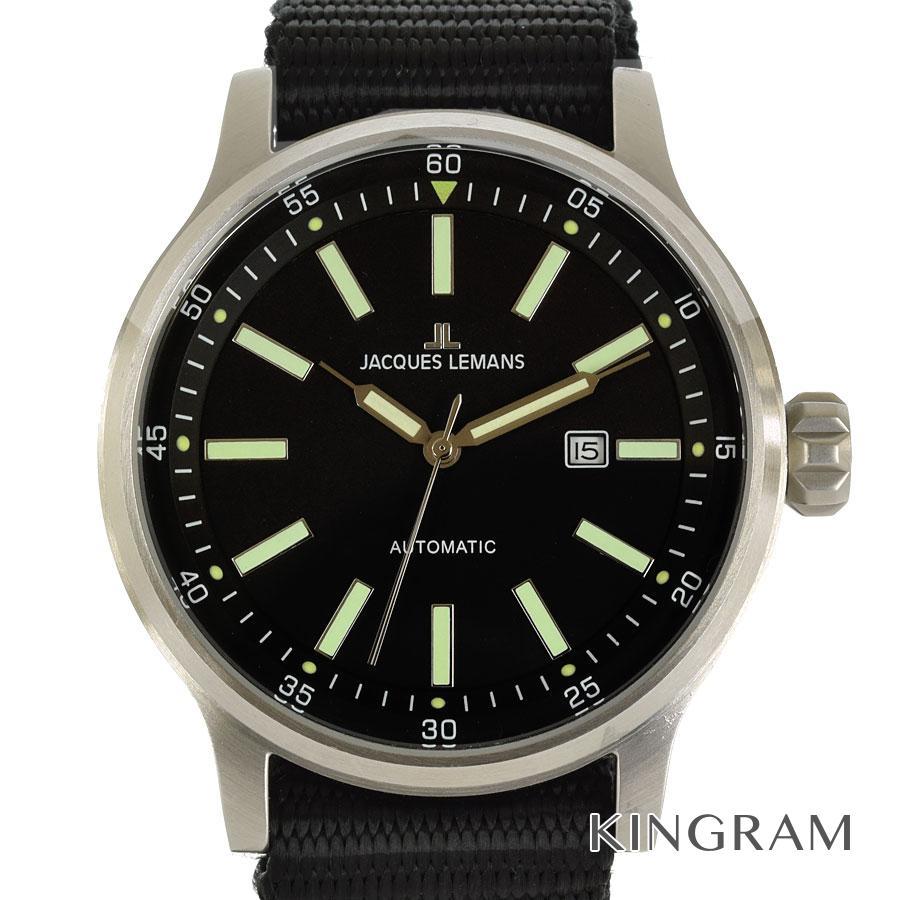 ジャックルマン JACQUES LEMANS 1-1723D 自動巻 未使用 メンズ 腕時計 ec【中古】