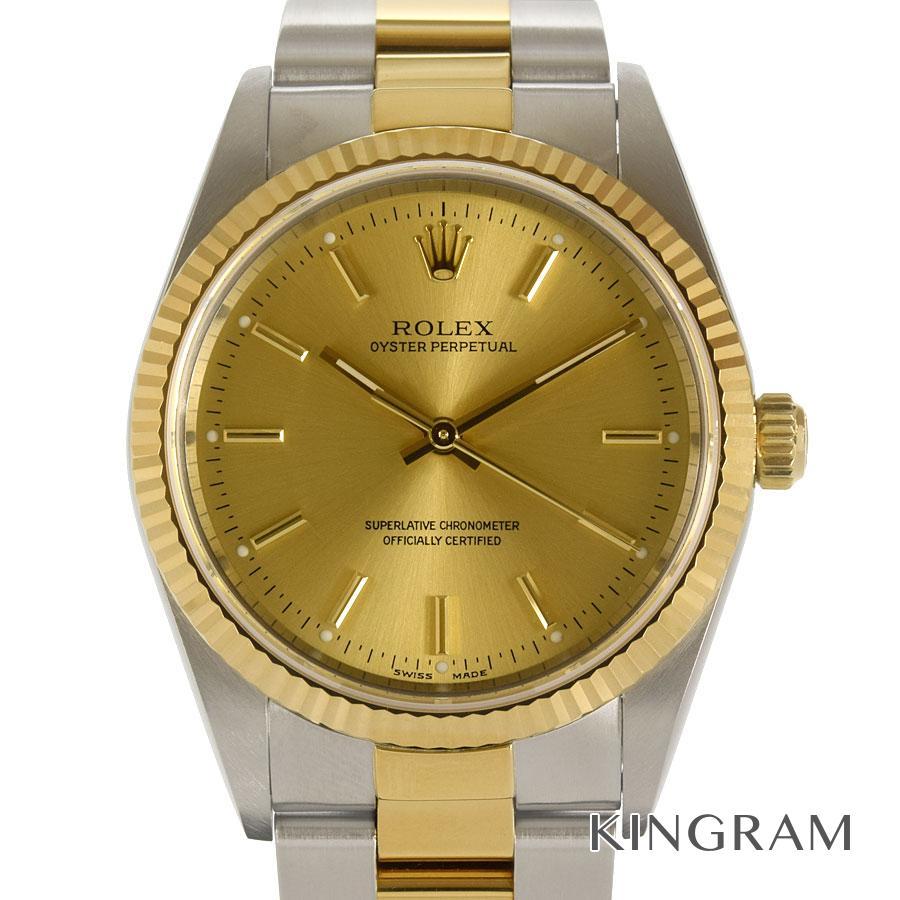 ロレックス ROLEX 14233M オイスターパーペチュアル P番 OH済 自動巻 メンズ 腕時計 te【中古】