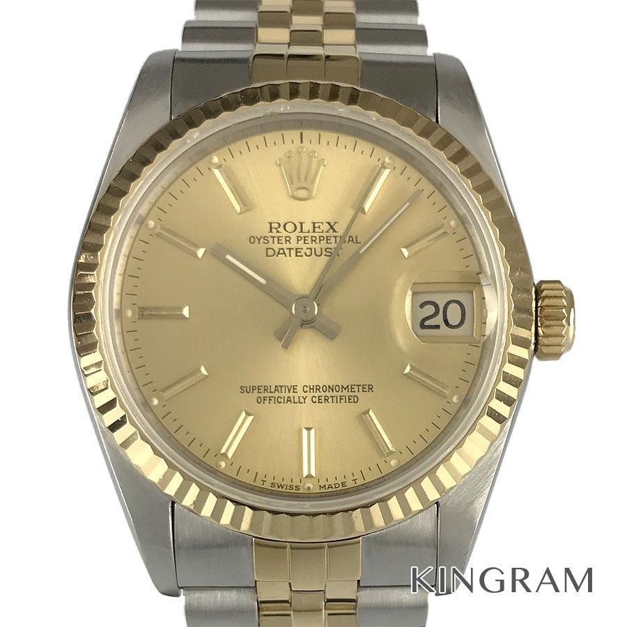 ロレックス ROLEX デイトジャスト ボーイズ 68273 外装仕上げ済 OH済 L番 自動巻 男女兼用腕時計 te【中古】