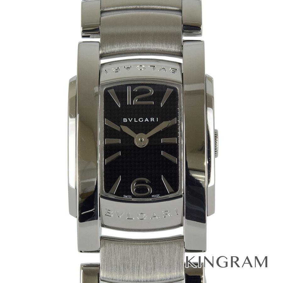 ブルガリ BVLGARI AA26S アショーマ D 電池交換済 外装仕上げ済 クォーツ レディース 腕時計 mi【中古】