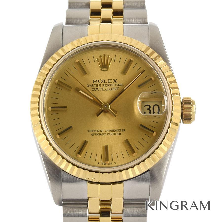 ロレックス ROLEX デイトジャスト ボーイズ 68273 R番 OH済 外装仕上げ済 自動巻 男女兼用腕時計 mo【中古】