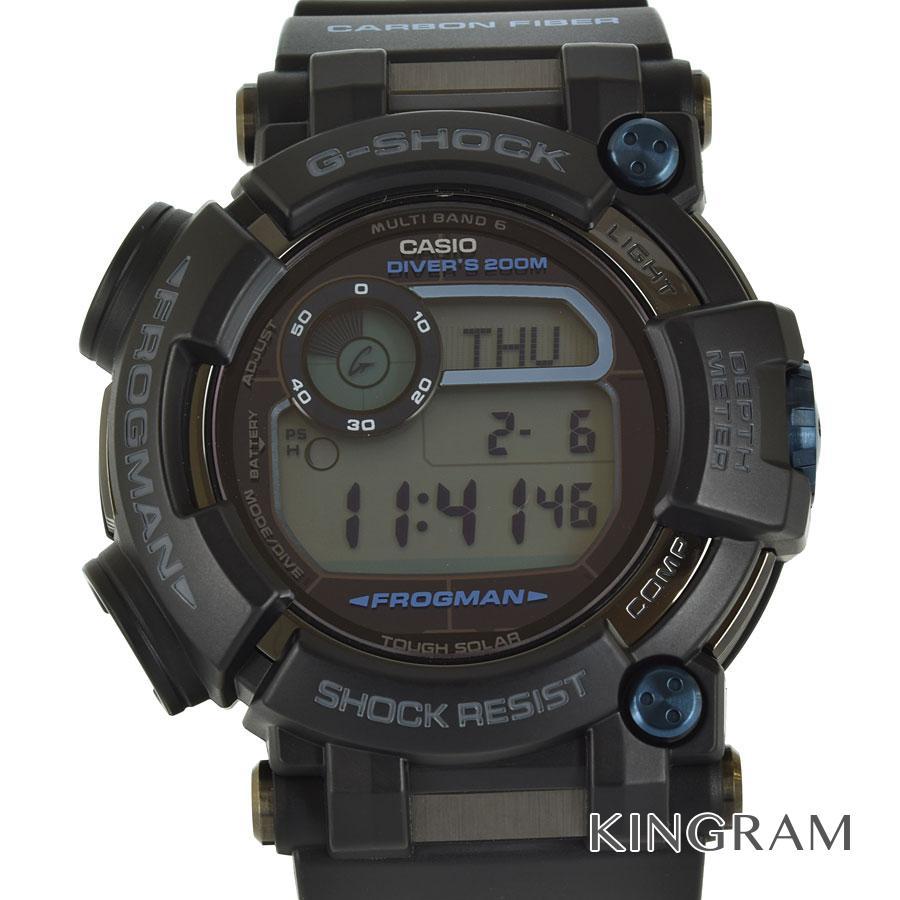 カシオ CASIO G-SHOCK GWF-D1000B-1JF フロッグマン ソーラークォーツ メンズ 腕時計 rna【中古】