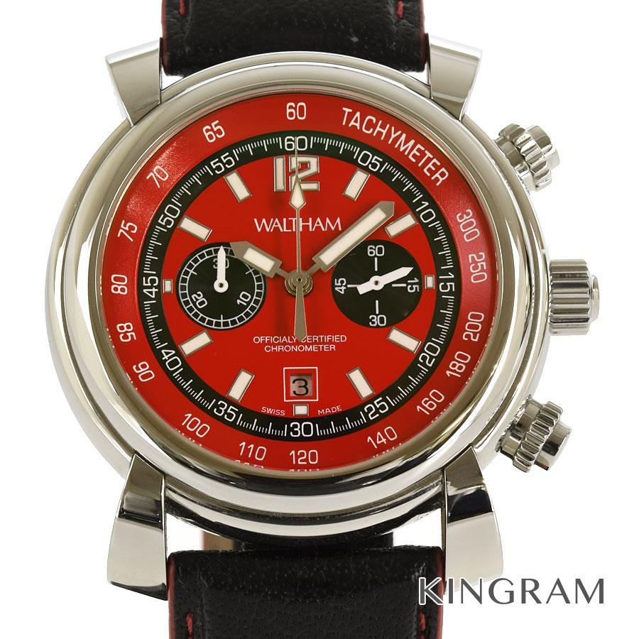 ウォルサム WALTHAM SW45 フィダツゴ クロノグラフ 機械点検済み 自動巻 メンズ 腕時計 te【中古】