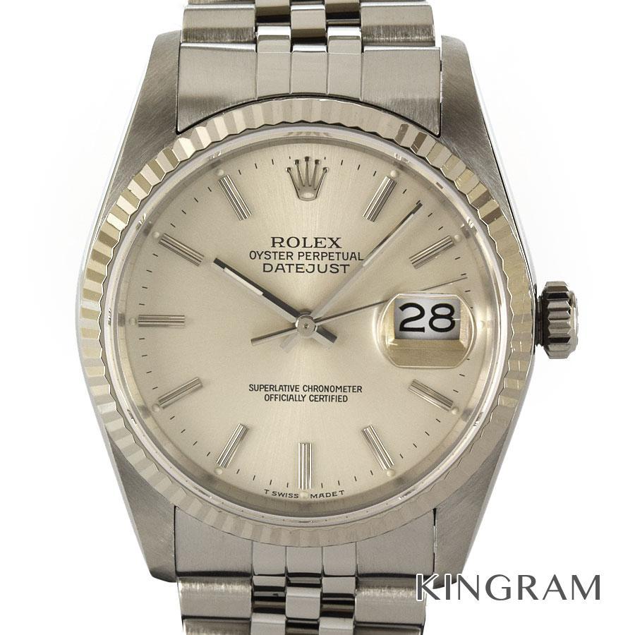 ロレックス ROLEX デイトジャスト 16234 L番 外装仕上げ済み 自動巻 メンズ 腕時計 mo【中古】