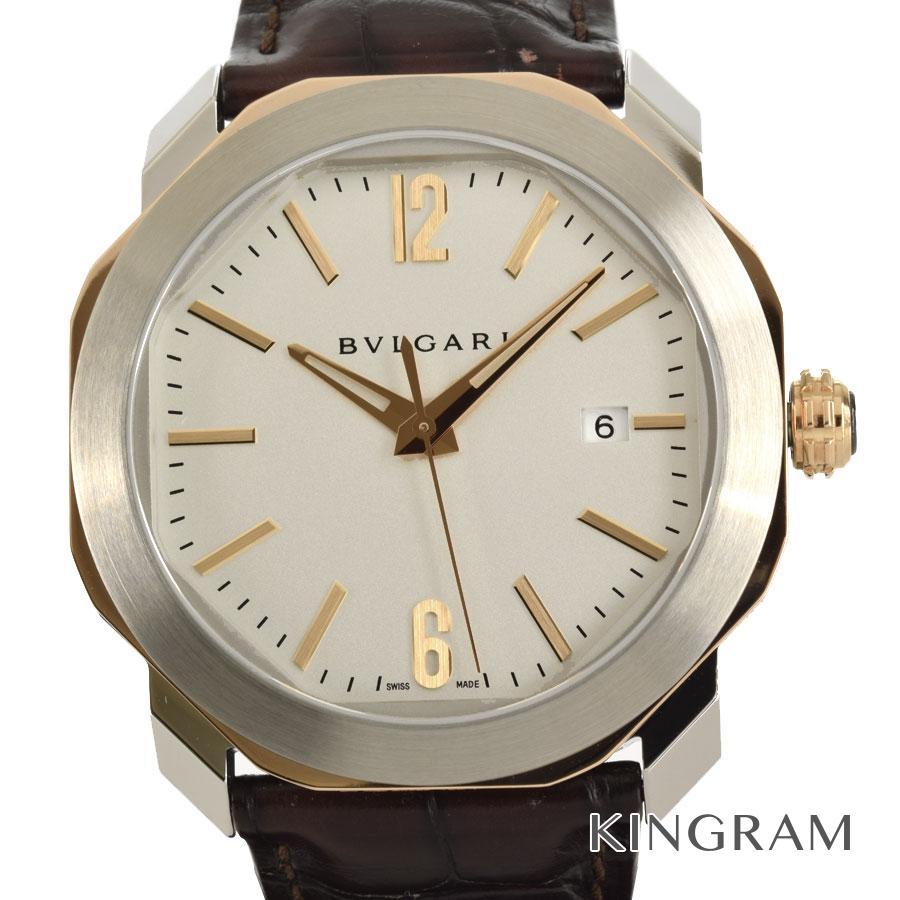 ブルガリ BVLGARI OC41C6SPGLD オクト ローマ 外装仕上げ済み 自動巻 メンズ 腕時計 te【中古】