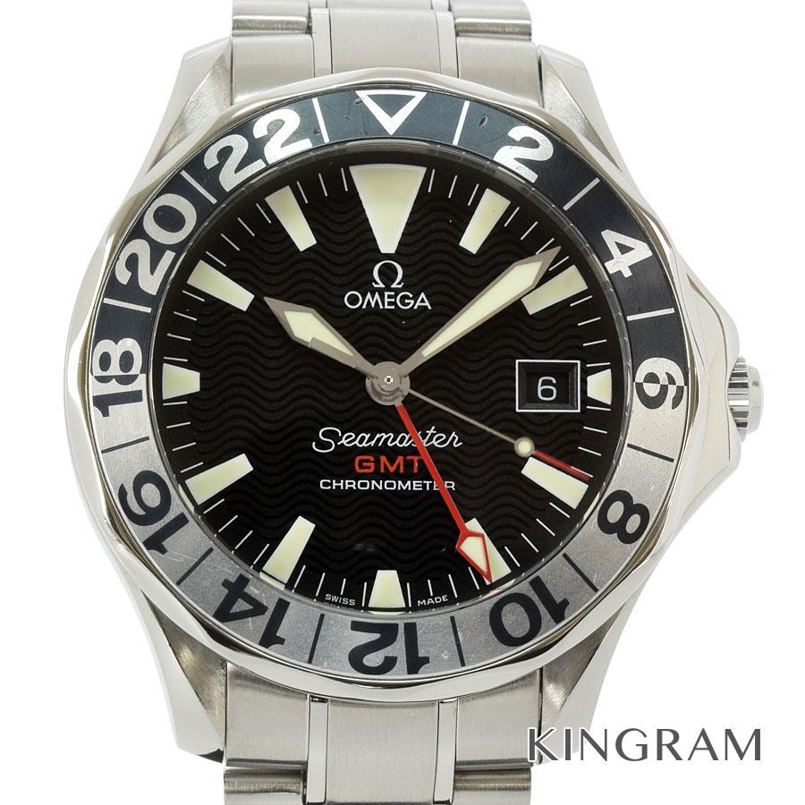 オメガ OMEGA シーマスター 2536.50 300 GMT 外装仕上げ済 OH済 自動巻 メンズ 腕時計 rkd【中古】
