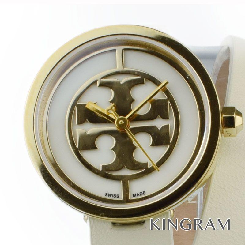 トリーバーチ TORY BURCH ロングベルト Ref.TRB4007 クォーツ レディース 腕時計 gi 【中古】