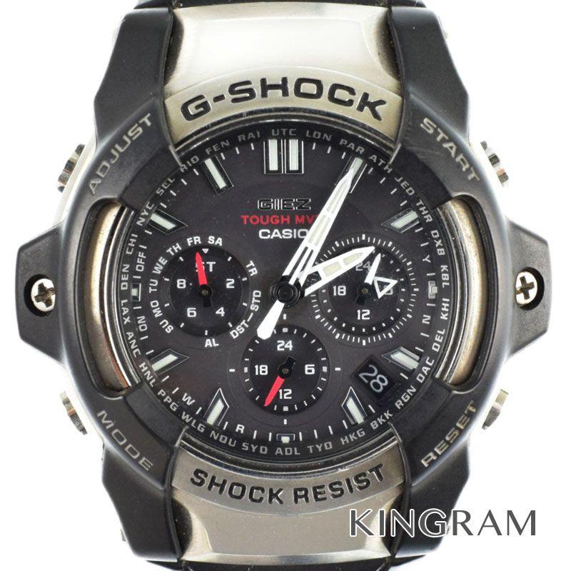 カシオ CASIO G-SHOCKジーショック Ref.GS-1400-1AJF 電波 タフソーラークォーツ メンズ 腕時計 gi 【中古】