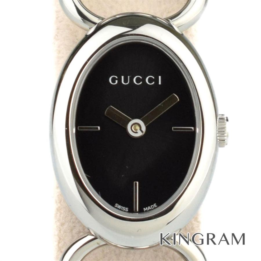 グッチ GUCCI Ref.YA118501 トルナヴォーニ オーバル クォーツ レディース 腕時計 hi 【中古】