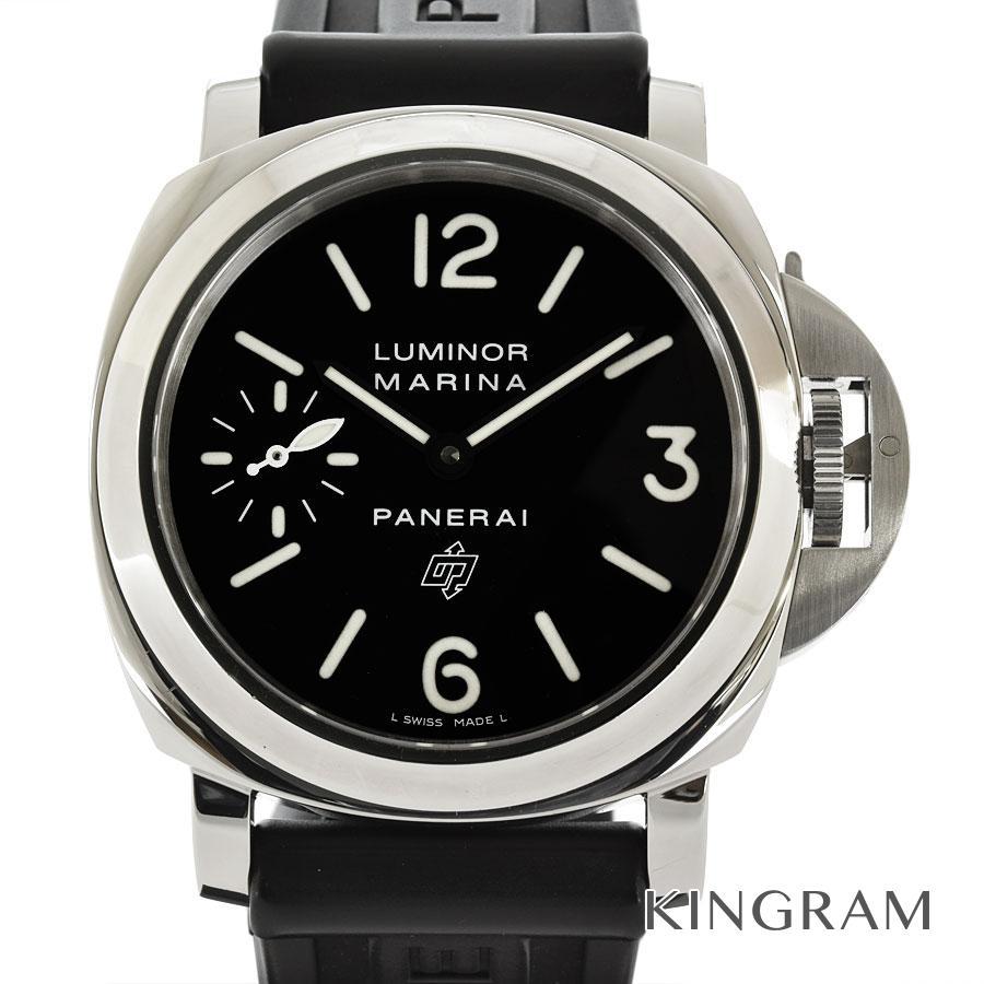 パネライ PANERAI PAM00005 ルミノールマリーナ ロゴ O番 2012年 OH済 手巻 メンズ 腕時計 ec【中古】