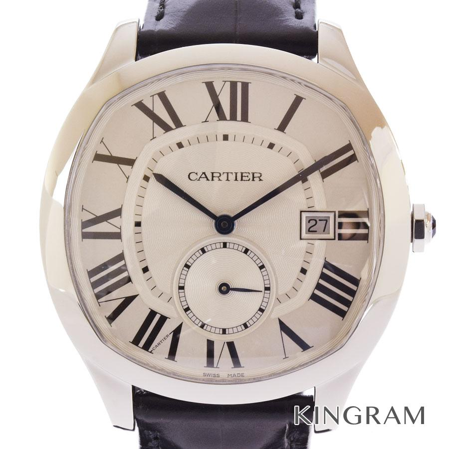 カルティエ CARTIER ドライブ ドゥ カルティエ WSNM0004 OH済 外装仕上げ済 自動巻 メンズ 腕時計 mo【中古】