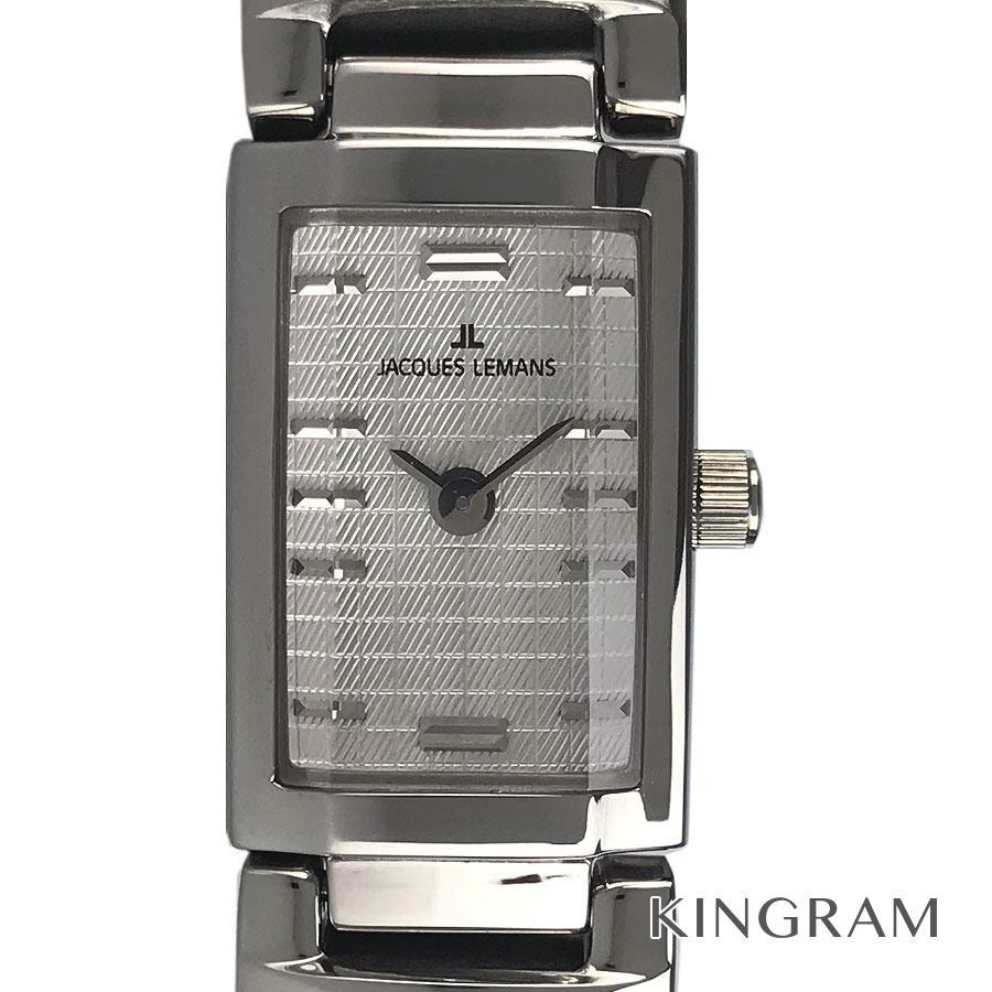 ジャックルマン JACQUES LEMANS 1-1916B カサブランカ クォーツ レディース 腕時計 ec【中古】