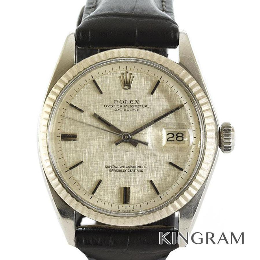 ロレックス ROLEX デイトジャスト 1601 OH済 シリアル不鮮明 自動巻 メンズ 腕時計 rib【中古】