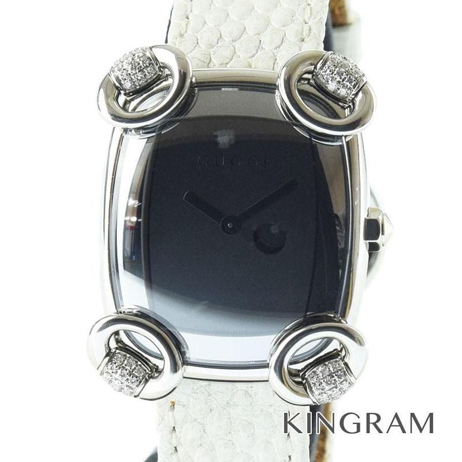 グッチ GUCCI ホースビットカクテル Ref.YA117506 クォーツ アウトレット レディース 腕時計 ec 【中古】
