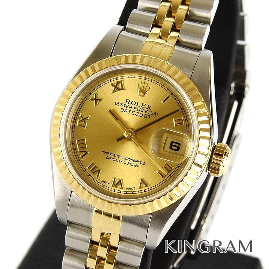ロレックス ROLEX デイトジャスト 69173 U番 外装仕上げ済み 自動巻 レディース 腕時計 mo【中古】