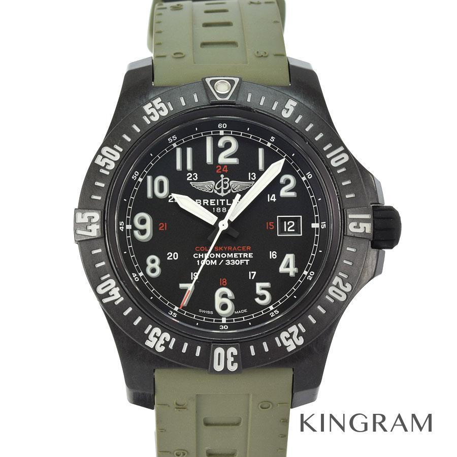 ブライトリング BREITLING X74320E4 コルト スカイレーサー 電池交換済 クォーツ メンズ 腕時計 ec【中古】