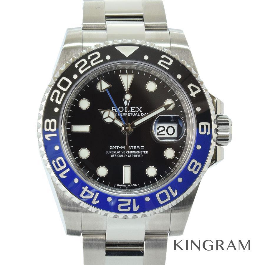 ロレックス ROLEX GMTマスター2 青×黒ベゼル 116710BLNR 自動巻 メンズ 腕時計 kkd【中古】