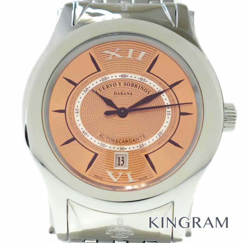 クエルボ イ ソブリノス CUERVO Y SOBRINOS ロブスト REF2802 メンズ腕時計 ju【中古】