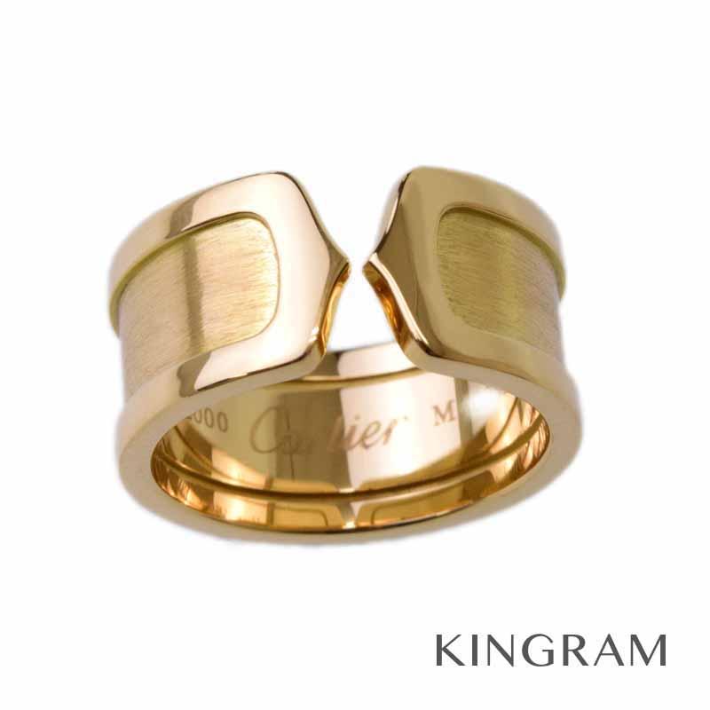 カルティエ Cartier K18 YG C2 リング 14.5号 750 イエローゴールド 指輪 55 kmas【中古】