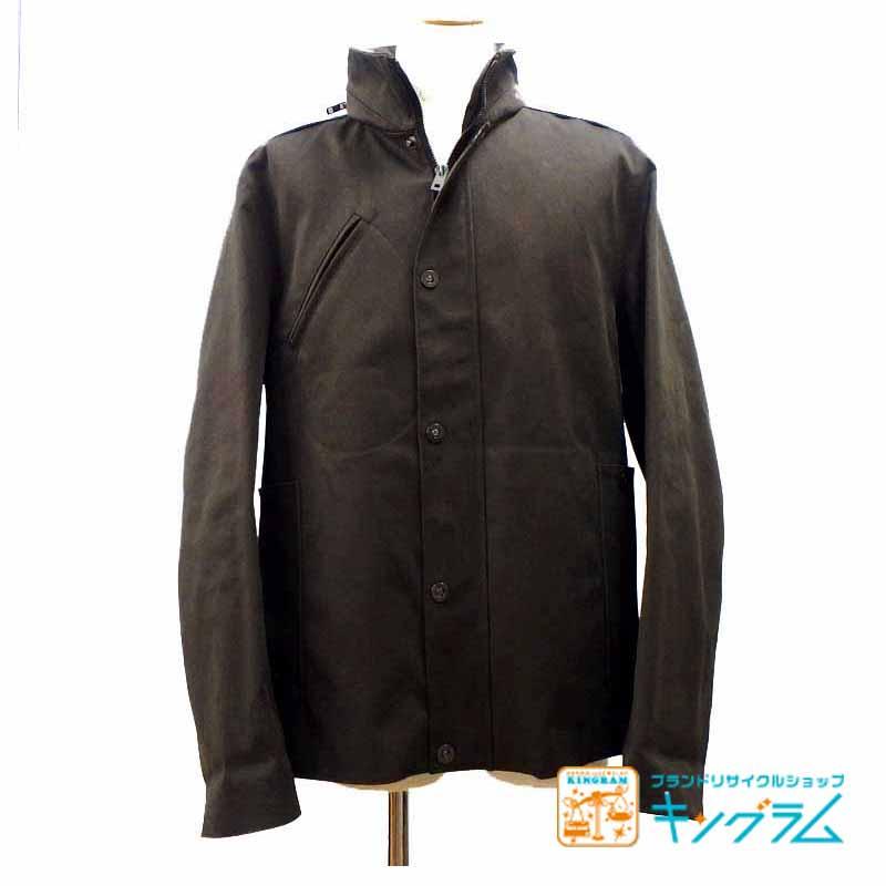 ルイヴィトン LOUIS VUITTON コットン ジャケット メンズ カーキ サイズ52 tumy 【中古】