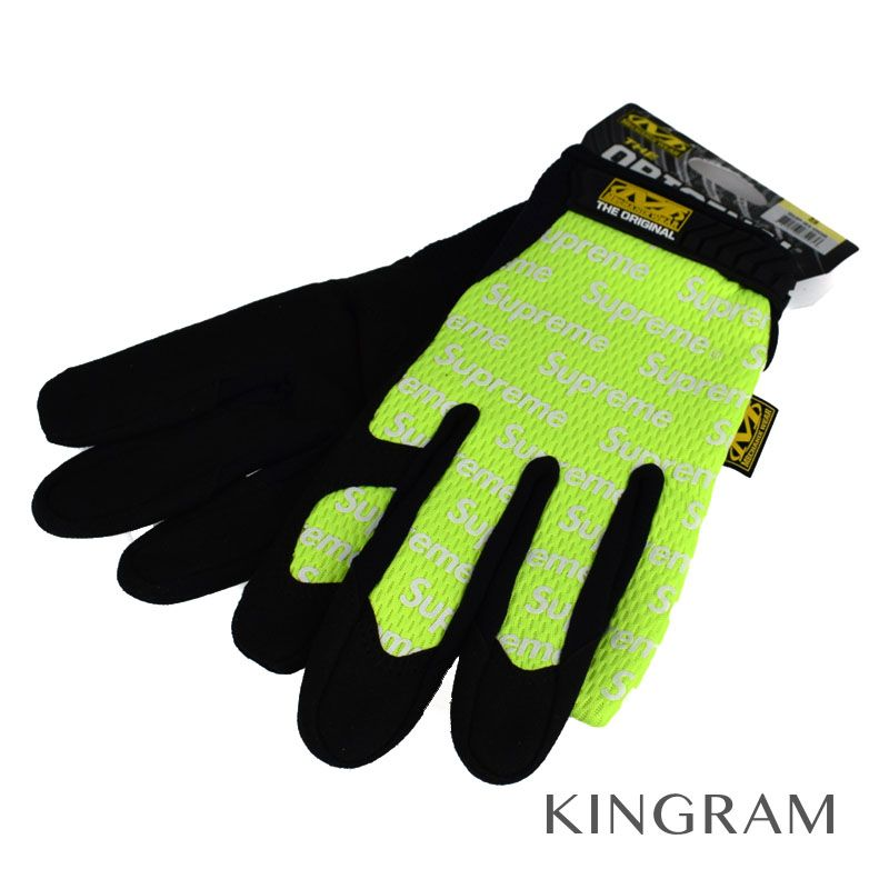 シュプリーム Supreme 手袋 17SS Mechanix Original Work Gloves グローブ SUP-91-008 Bright Yellow メンズ手袋 rtk 【中古】