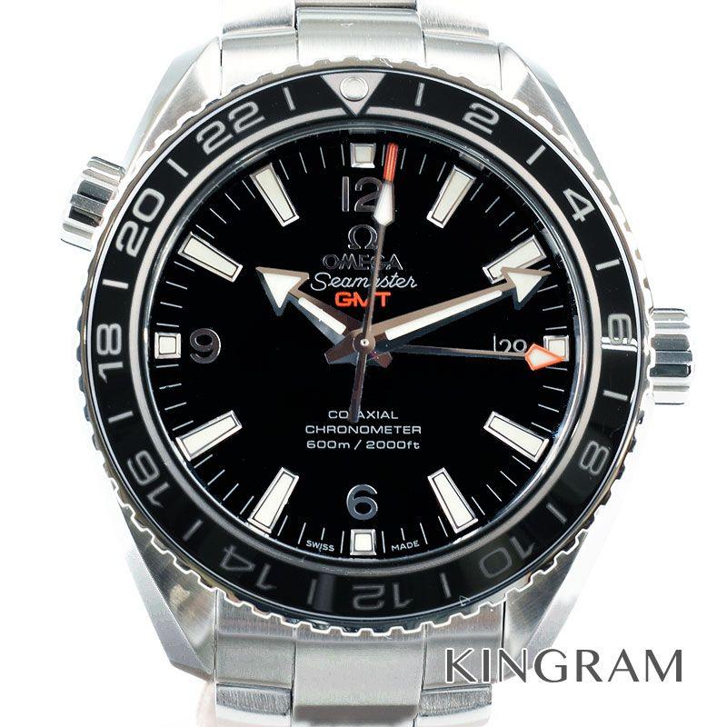 オメガ OMEGA シーマスタープラネットオーシャン Ref.232.30.44.22.01.001 コーアクシャル GMT 自動巻 メンズ 腕時計 ju 【中古】