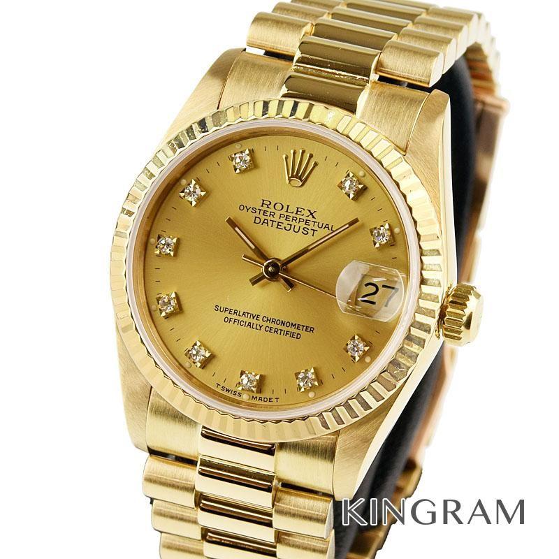 ロレックス ROLEX デイトジャスト Ref.68278G OH 外装仕上げ済 自動巻 男女兼用腕時計 te 【中古】