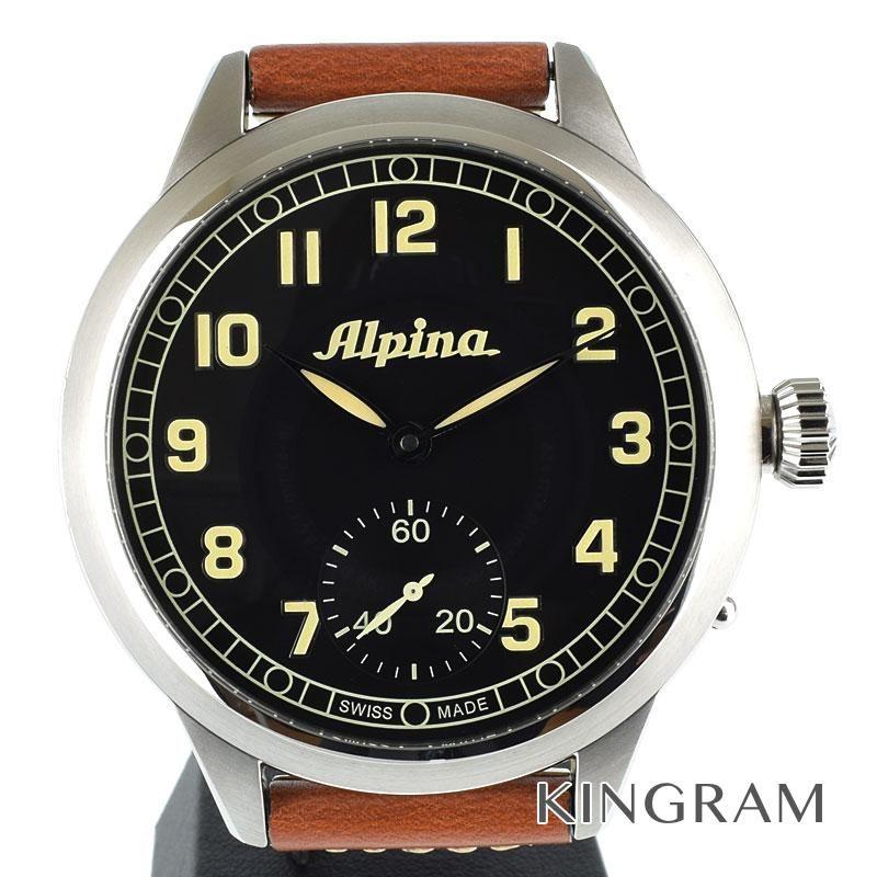 アルピナ Alpina Ref.AL435B4SH6 手巻 アビエーション へリテージ パイロット 1883本限定 アウトレット メンズ 腕時計 ec 【中古】