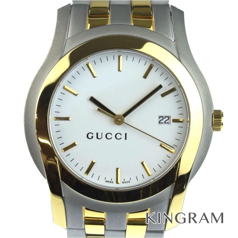 グッチ GUCCI Gクラス Ref.5500XL メンズ 腕時計 ec 【中古】