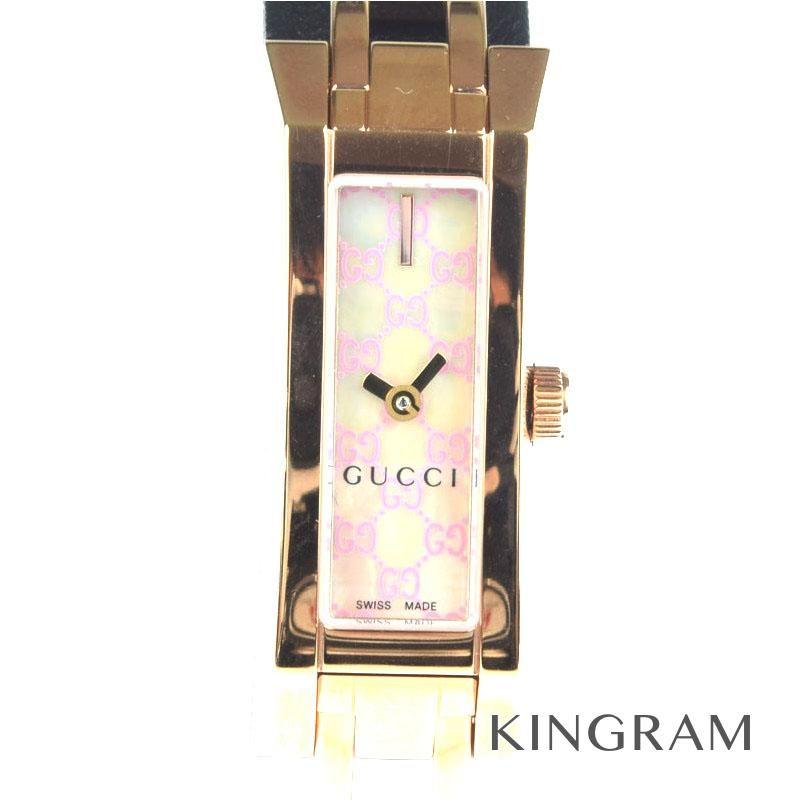 グッチ GUCCI Gリンク Ref.110 YA-110521 レディース 腕時計 ec 【中古】