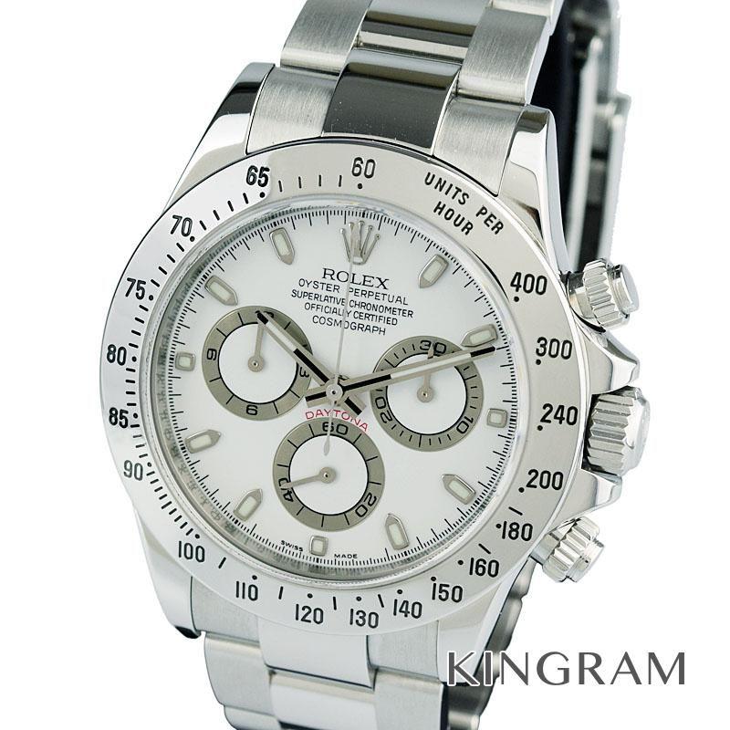 ロレックス ROLEX コスモグラフ デイトナ Ref.116520 OH済 外装仕上げ済み M番 自動巻 メンズ 腕時計 mo 【中古】