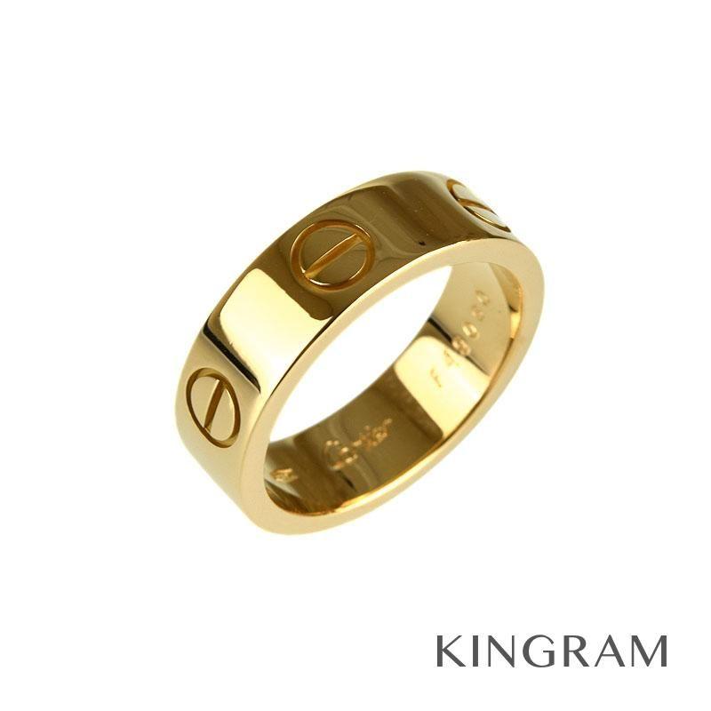 カルティエ Cartier ラブ リング K18YG(750)  #50 9.5号 クリーニング済 ec 【中古】